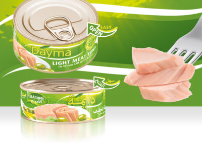 DAYMA Light Meat Tuna in Olive Oil 140g