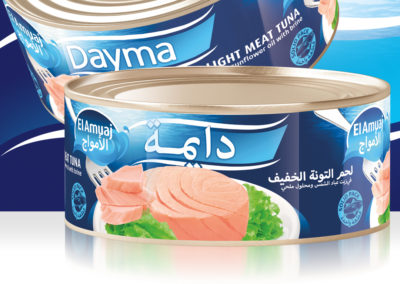 DAYMA Light Meat Tuna 900g
