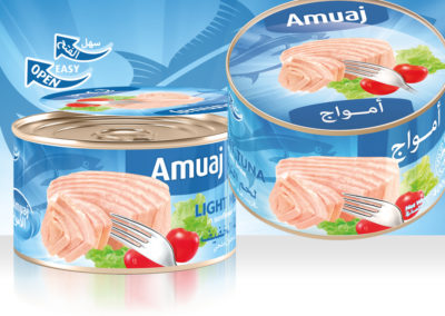 AMUAJ Light Meat Tuna 400g