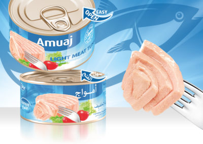 AMUAJ Light Meat Tuna 200g