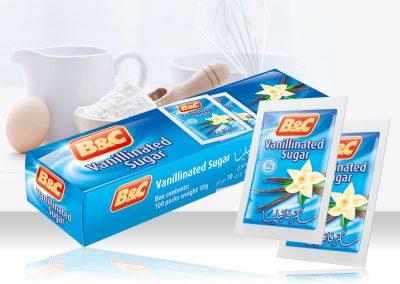 B&C Vanillinated Sugar