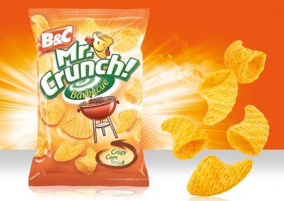 Crispy Corn Snack MR CRUNCH! 3D Barbecue