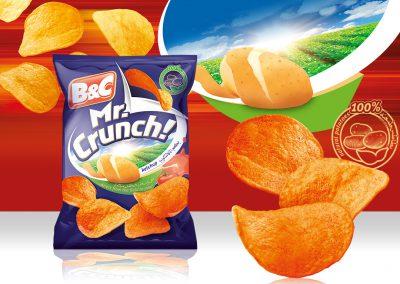 25g MR. CRUNCH! ketchup