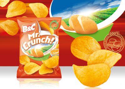 25g MR. CRUNCH! nacho cheese