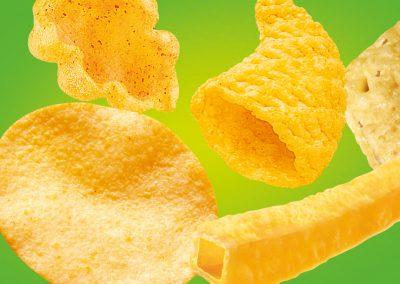 Potato and Corn Snacks