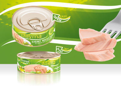 DAYMA Light Meat Tuna in Olive Oil 65g