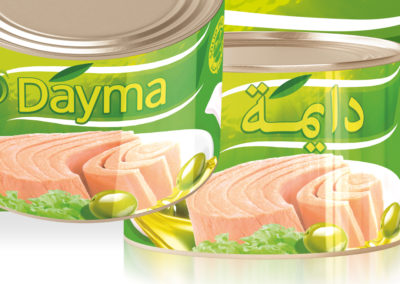 DAYMA Light Meat Tuna in Olive Oil 1700g