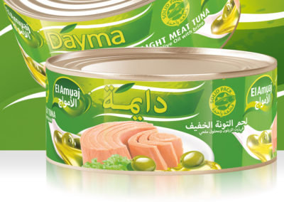 DAYMA Light Meat Tuna in Olive Oil 900g
