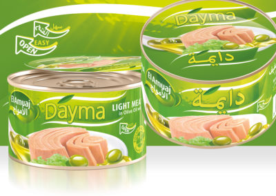 DAYMA Light Meat Tuna in Olive Oil 400g