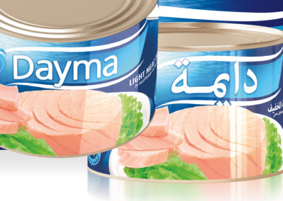 DAYMA Light Meat Tuna 1700g