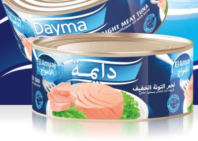 DAYMA Light Meat Tuna 900g
