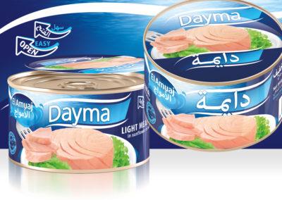 DAYMA Light Meat Tuna 400g