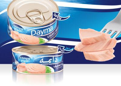 DAYMA Light Meat Tuna 160g