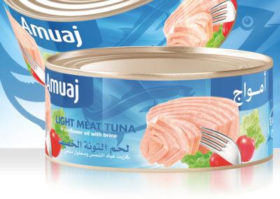 AMUAJ Light Meat Tuna 900g