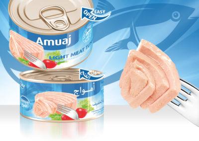 AMUAJ Light Meat Tuna 200g