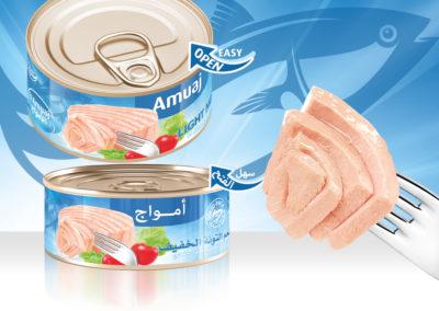 AMUAJ Light Meat Tuna 160g