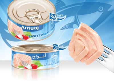 AMUAJ Light Meat Tuna 140g