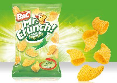 Crispy Corn Snack MR CRUNCH! 3D Paprika