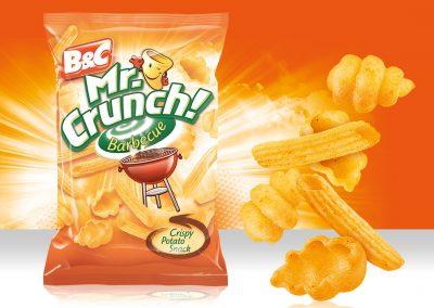 Crispy Potato Snack MR CRUNCH! Pasta Barbecue