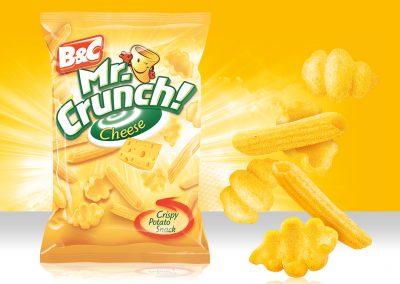 Crispy Potato Snack MR CRUNCH! Pasta Cheese