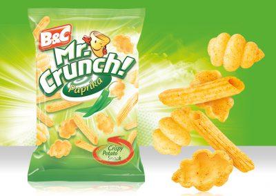 Crispy Potato Snack MR CRUNCH! Pasta Paprika