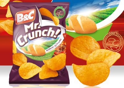 100g MR. CRUNCH! barbecue