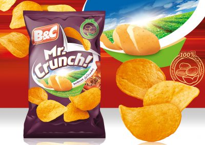 50g MR. CRUNCH! barbecue