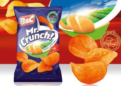 50g MR. CRUNCH! ketchup