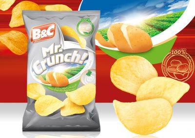 50g MR. CRUNCH! sour cream