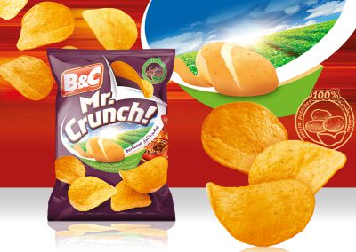 25g MR. CRUNCH! barbecue