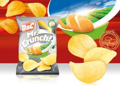 25g MR. CRUNCH! sour cream